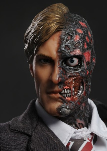 Aaron Eckhart as Two Face in The Perfect Batman Movie