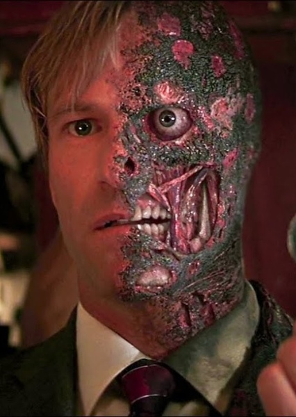 Aaron Eckhart as Harvey Dent (DC) in Superheroes and Supervillains