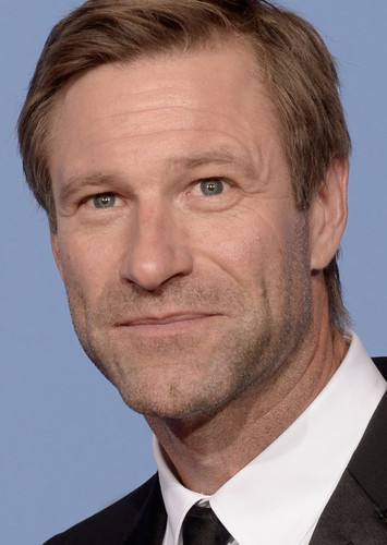 Aaron Eckhart as Abraham Wynn in Fallen too Far (Rosemary Beach Series)