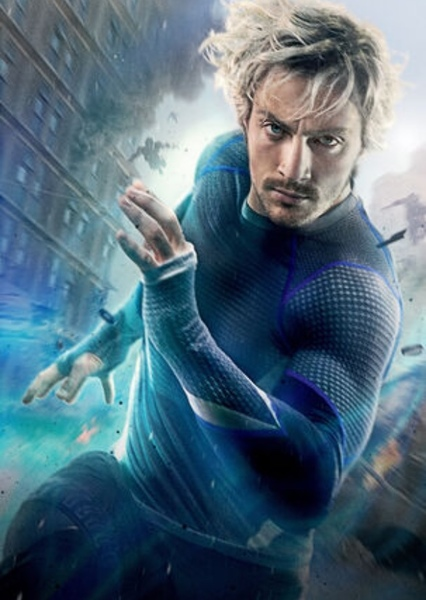 Aaron Taylor-Johnson as Quicksilver in Speed