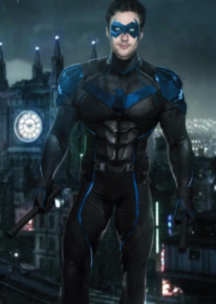 Aaron Taylor-Johnson as Nightwing in Boy Wonders