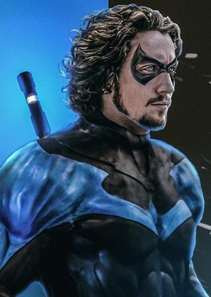 Aaron Taylor-Johnson as Dick Grayson in Shot to the Dead