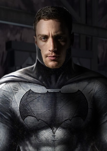 Aaron Taylor-Johnson as Bruce Wayne in The Batman (2022)