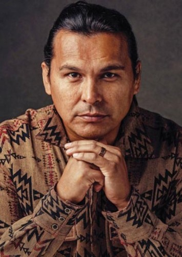Adam Beach as Chief Powhatan in Pocahontas