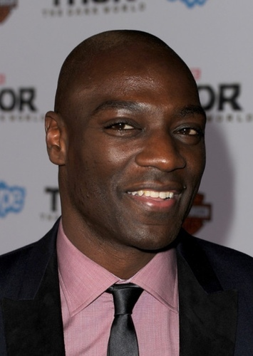 Adewale Akinnuoye-Agbaje as Director Nick Fury in Captain Wonder