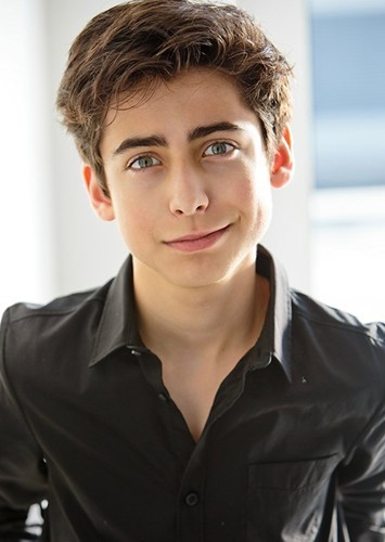 Aidan Gallagher as Putzie in Grease