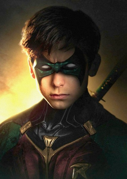 Aidan Gallagher as Damian Wayne in All New Teen Titans