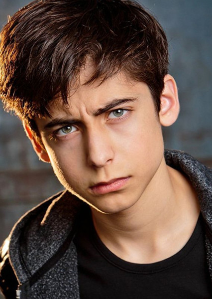 Aidan Gallagher as Damian in Dc zombies (tv show)