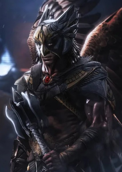 Aldis Hodge as Hawkman in Justice League 2: Enter Braniac
