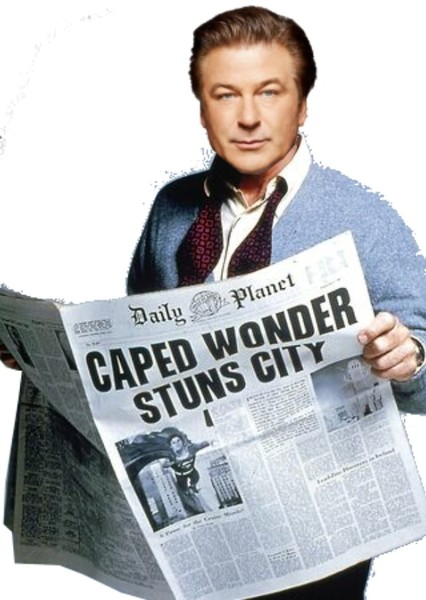 Alec Baldwin as Perry White in Superman: