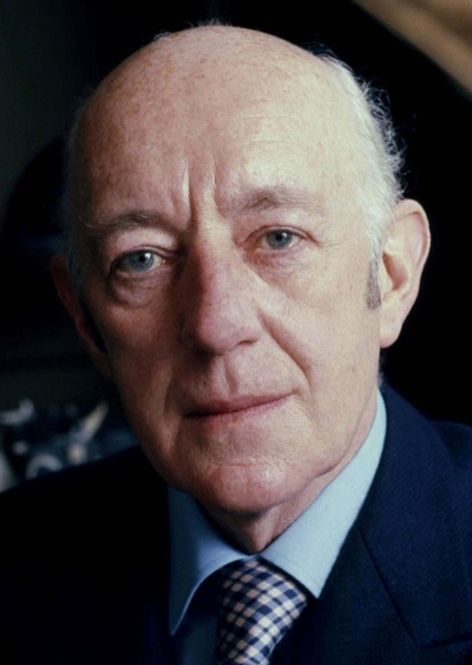 Alec Guinness as Alfred Pennyworth in Batman (1970's)