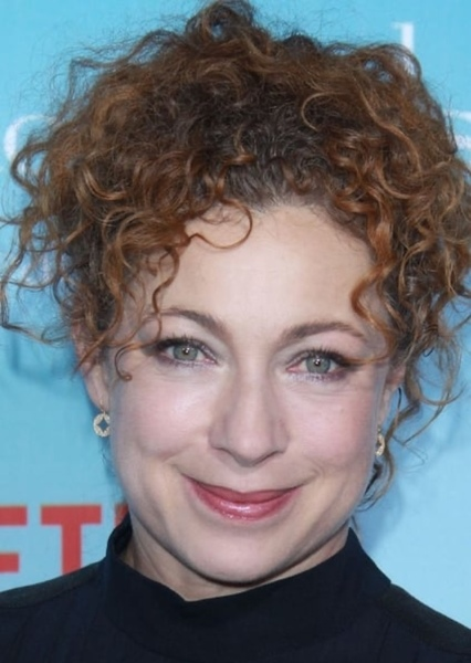 Alex Kingston as Molly Weasley in Harry Potter