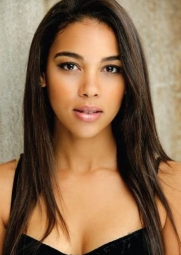 Alexandra Shipp as Abby Suso in Leah On The Offbeat