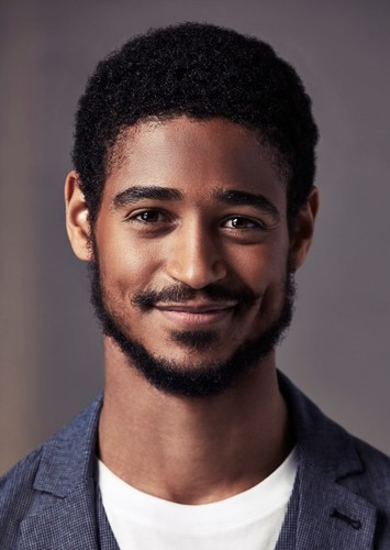 Alfred Enoch as Femi in The Guest List