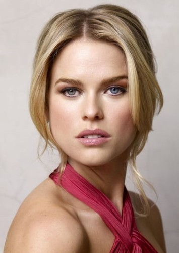 Alice Eve as Dr. Mary Robinson in Dr. Cyclops