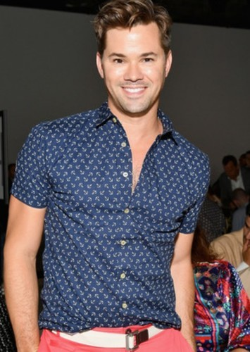 Andrew Rannells as Larry in The Boys in the Band