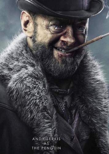 Andy Serkis as Oswald Cobblpott in Phase 3 Deaths
