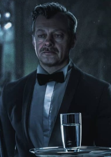Andy Serkis as Alfred Pennyworth in Matt Reeves The Batman Trilogy