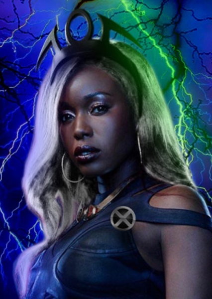 Anna Diop as Storm in X men (mcu)