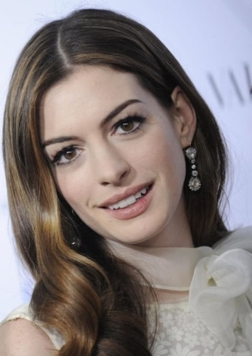 Anne Hathaway as Lois Lane in The Perfect Superman Movie