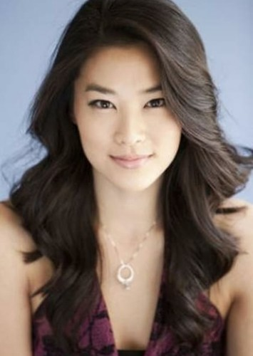 Arden Cho as EMIKO QUEEN in Green Arrow: The Emerald Archer
