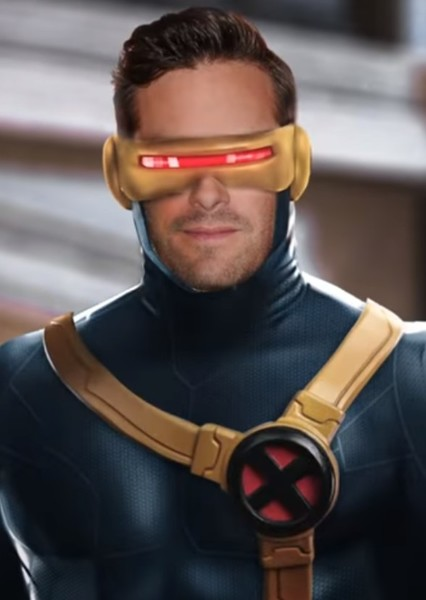 Armie Hammer as Cyclops in MCU