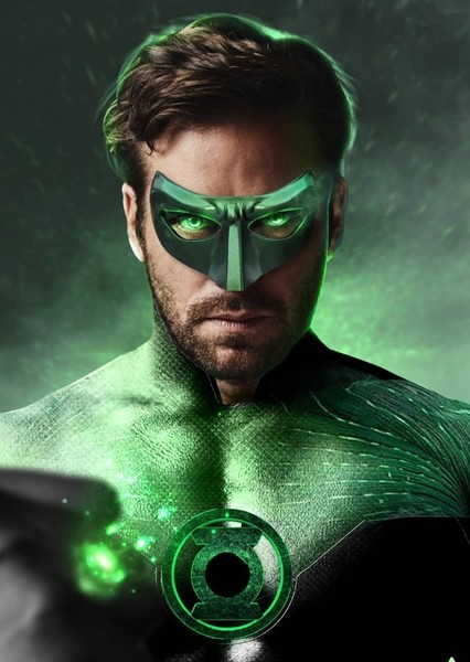 Armie Hammer as Hal Jordan (Green Lantern) in All Superheroes and Villains (DC, Marvel, & Dark Horse Comics)