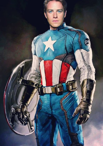 Armie Hammer as Captain America in Marvel Ultimate Alliance