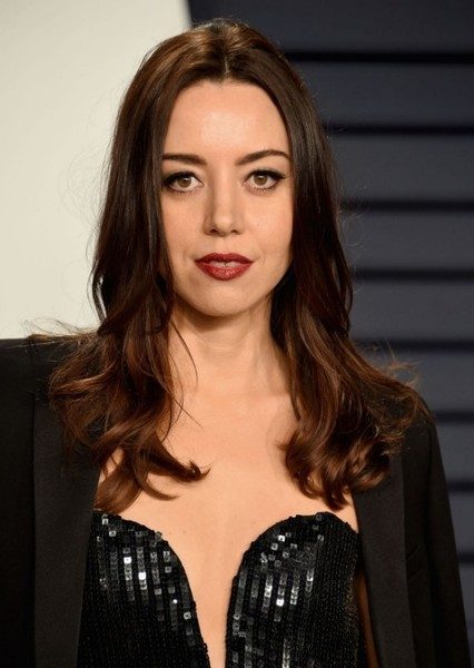 Aubrey Plaza as Janine Melnitz in Ghostbusters