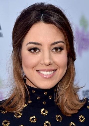 Aubrey Plaza as The Cashier in Typical Work Com Movie/Television Series