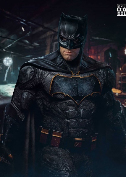 Ben Affleck as Batman in Zack Snyder's The Batman