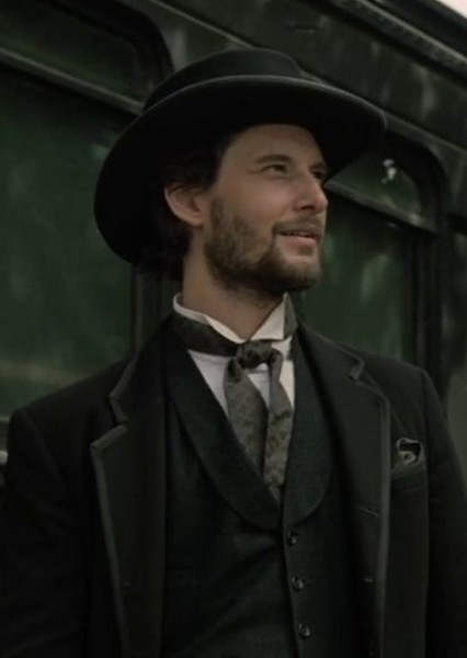 Ben Barnes as John Marston in Red Dead Redemption.