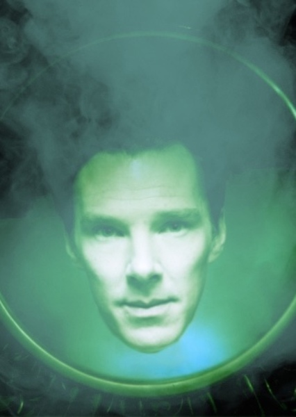 Benedict Cumberbatch as Magic Mirror in Red Rose