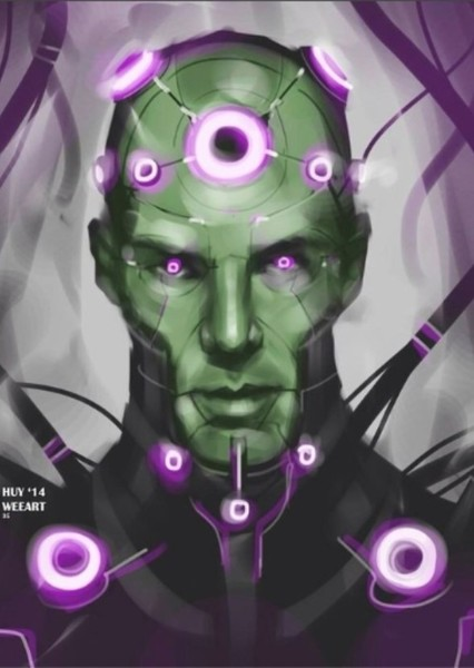 Benedict Cumberbatch as Brainiac in My Ideal Superman Movie
