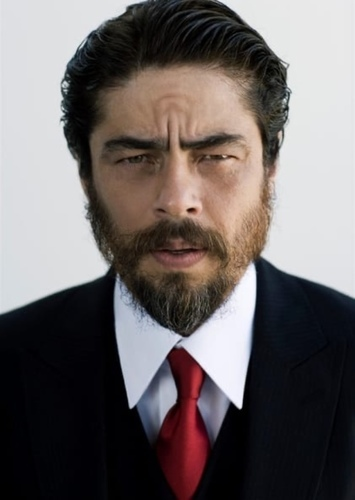 Benicio del Toro as Vandal Savage in Lovers through time 7th movie phase 1