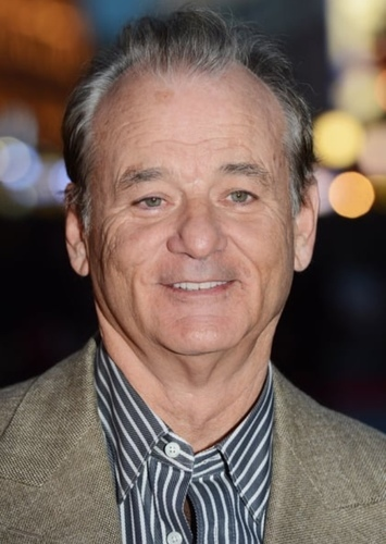 Bill Murray as Grandpa Simpson in The Simpsons live action movie