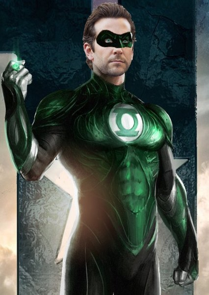 Bradley Cooper as Green Lantern in Justice League 2: Enter Braniac