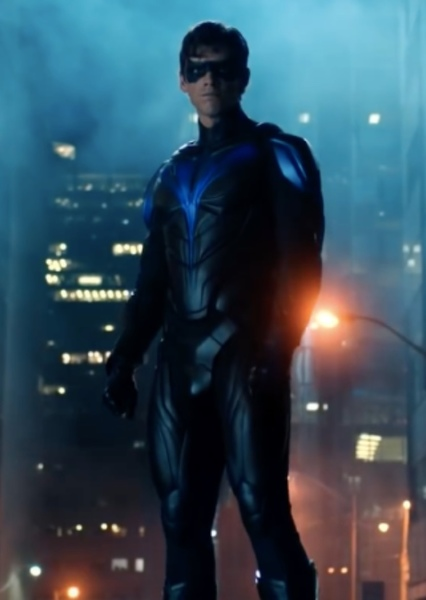 Brenton Thwaites as Dick Grayson in The Batman/Superman: World's Finest