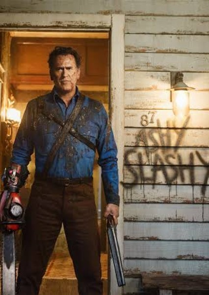 Bruce Campbell as Ash Williams in Deadite Armageddon
