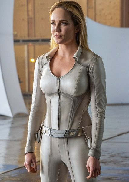 Caity Lotz as SARA LANCE in Green Arrow: The Emerald Archer