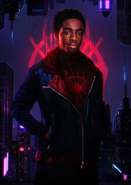 Caleb McLaughlin as Miles Morales in Spider-Man: Into the Spider-Verse (2018)