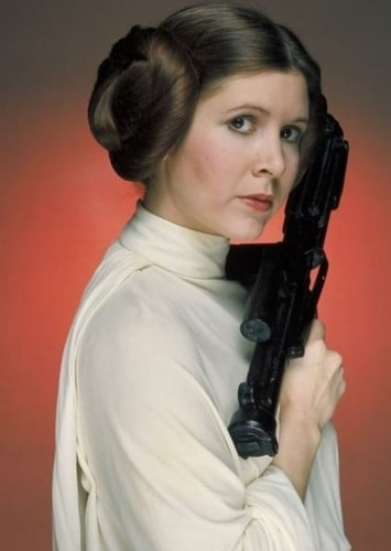 Carrie Fisher as In Memory of... in Best & Worst Star Wars Castings