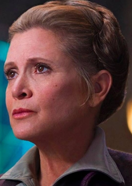 Carrie Fisher as Queen Leia Organa in Star Wars: Episode VII – The Way of Balance (2015)