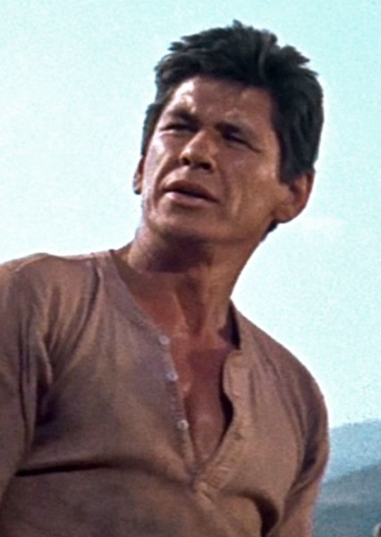 Charles Bronson as Billy Knapp in The Ballad of Buster Scruggs: 1960s Edition