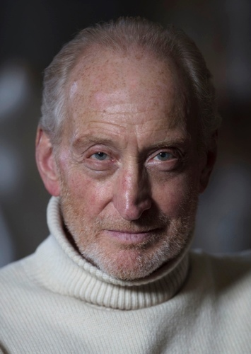 Charles Dance as Alphonse Frankenstein in Frankenstein