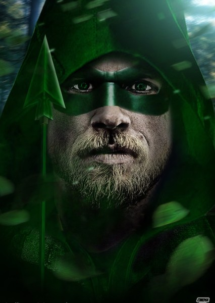 Charlie Hunnam as Green Arrow DCEU in  DC BATMAN MULTIVERSE AND JUSTICE LEAGUE