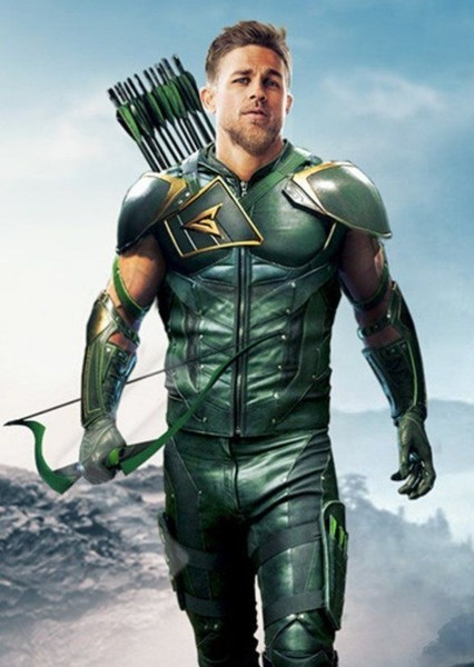 Charlie Hunnam as Oliver Queen in Flash Vs Arrow