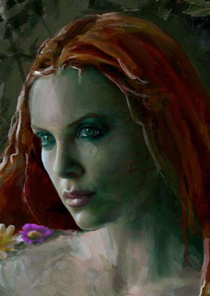Charlize Theron as Poison Ivy in DCEU Rebooted