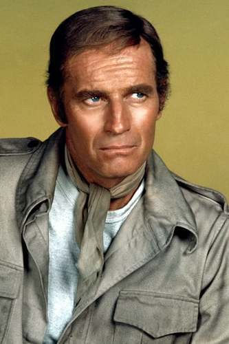 Charlton Heston as Nick Fury in 80's Captain America Movie Trilogy