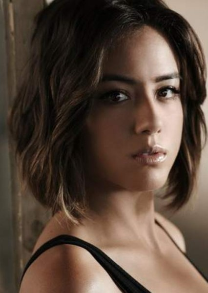 Chloe Bennet as Aphrodite in Percy Jackson: Heroes of Olympus (fan cast)